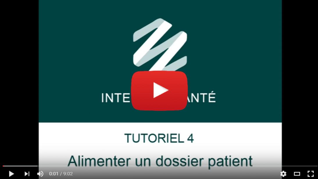 Illustration article interStis Santé – Alimenter un dossier patient
