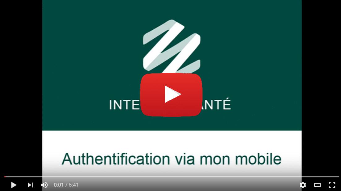 Illustration article interStis Santé – Authentification à la plateforme interStis Santé via mobile