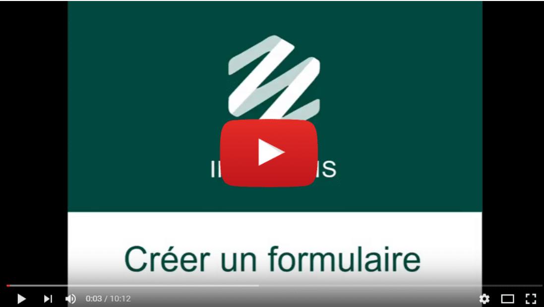 Illustration article interStis Pro – Créer un formulaire