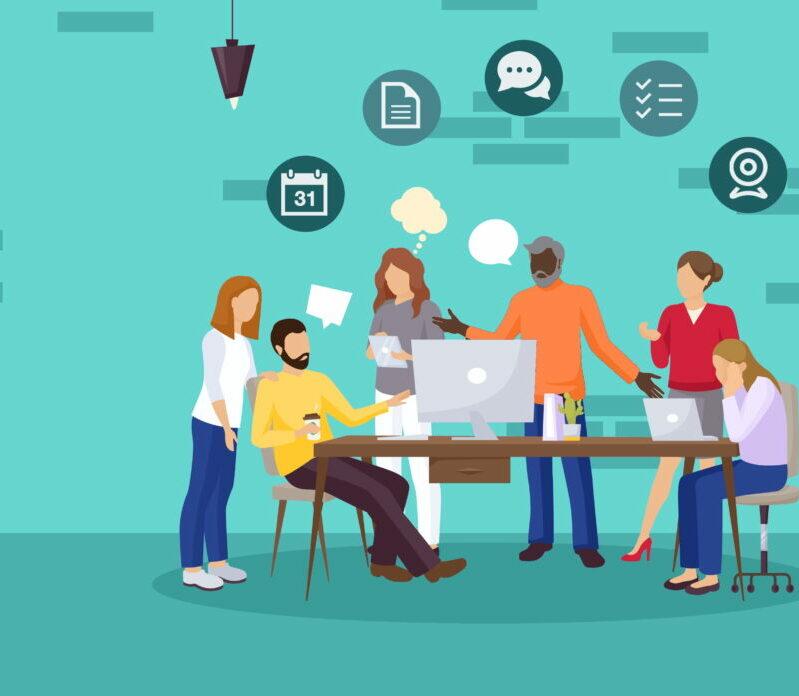 Illustration article RESANA Version 3 – le réseau social collaboratif poursuit sa mue !