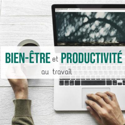 Illustration article Bien-être et productivité au travail