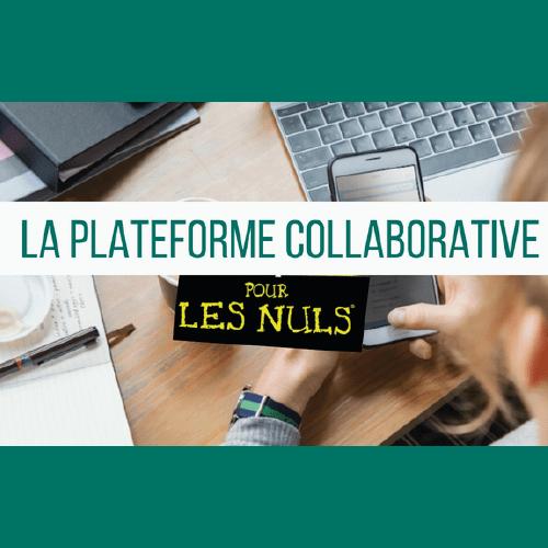 Illustration article La plateforme collaborative pour les nuls !