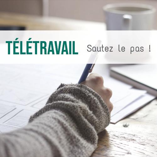 Illustration article Le télétravail : une nouvelle organisation de travail efficace grâce aux outils collaboratifs