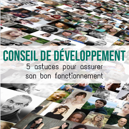 Illustration article 5 astuces pour assurer le bon fonctionnement de votre Conseil de développement
