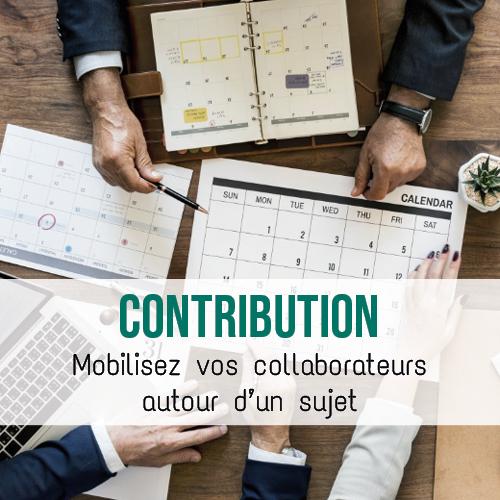 Illustration article L'outil contribution, mobilisez vos collaborateurs autour d'un sujet