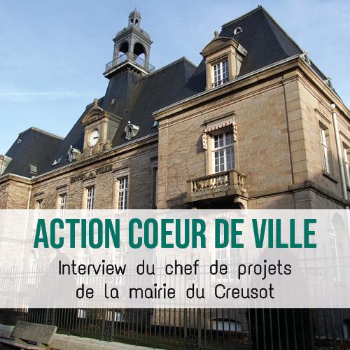 Illustration article Projet cœur de ville : la mairie du Creusot utilise la plateforme collaborative interStis