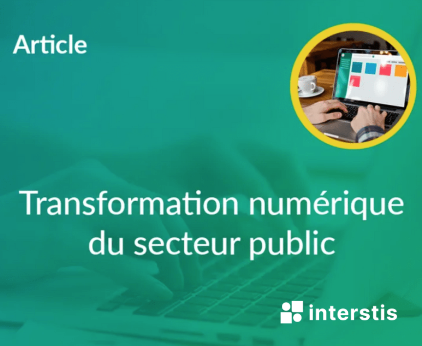 Illustration article La transformation digitale du secteur public