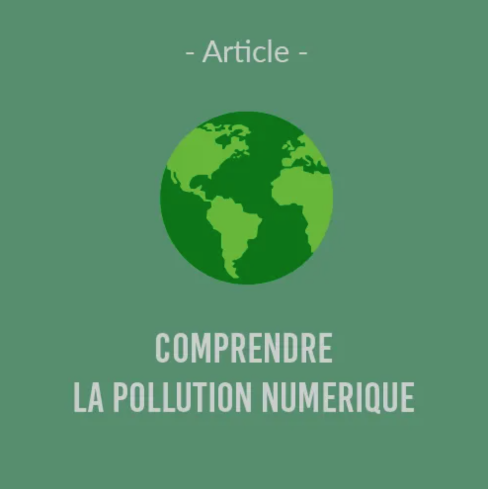 Illustration article L'impact du numérique sur le réchauffement climatique
