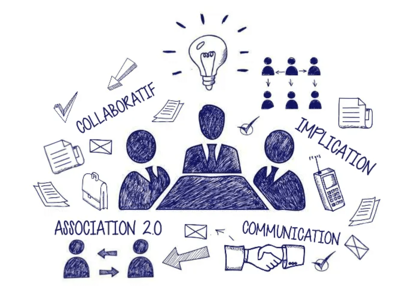 Illustration article Transformer le fonctionnement de son association grâce aux outils numériques