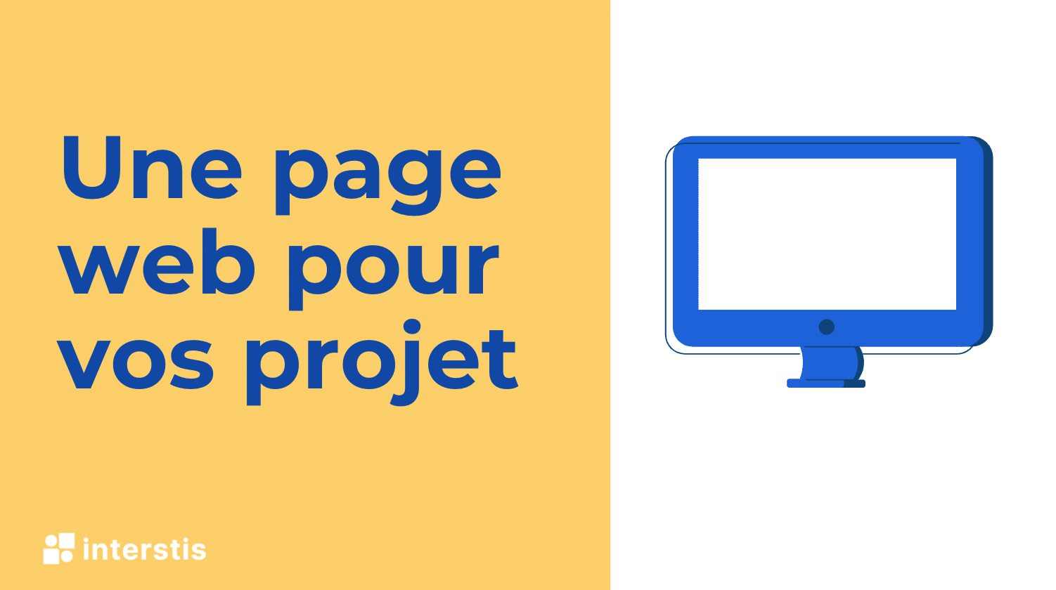 Illustration article Une page web pour vos projets