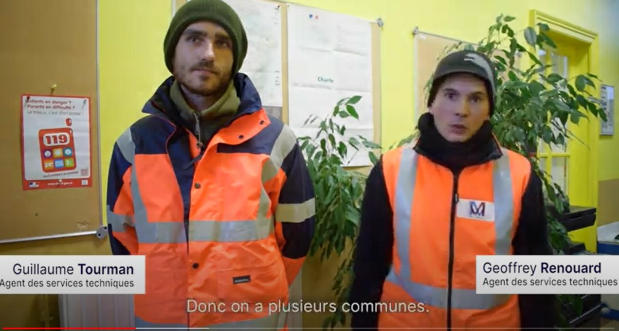 Illustration vidéo Rencontre avec les agents du service public dans la région du Grand-Est